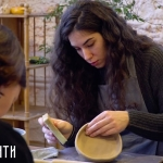 Урок гончарного мастерства Нины Глонти