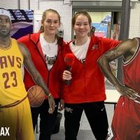 Спортивная выставка в Сокольниках. Игроки МБА-ДЮБЛ пробуют себя в других видах спорта